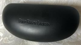 Polo RALPH LAUREN Black Leather Sunglasses Hard Case EUC - $6.93