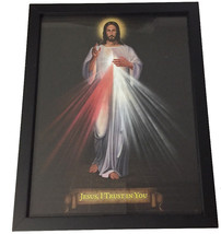 "DIVINE MERCY - Framed Print - 9.5' x 12"" by Tommy Canning - $46.95"