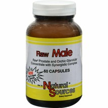 Natural Sources - Raw Male, 60 capsules - $11.71