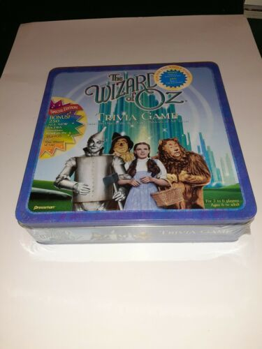 Primary image for 1999 The Wizard of Oz Trivia Game Collector's Tin Special Music Song Edition NIB
