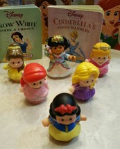 Fisher Price Little People Princess Figurines with Books - $24.00
