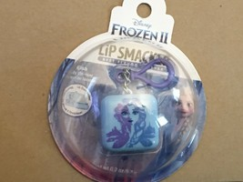 Frozen II Lip Smacker Cube with Hanger Blue *NEW* L1 - $7.99