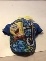 Spongebob Squarepants Nickelodeon Cartoon  Flexfit Fitted Hat Size Toddl... - $12.87