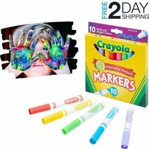 Kids Crafts Markers 10Pcs Vibrant Classic Family School List Creative Dr... - $3.95