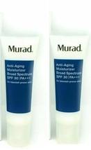 2 x Murad Anti-Aging Acne Moisturizer Broad Spectrum SPF 30, 1.7oz No Box 2022 - $43.55