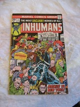 THE INHUMANS #3 very fine- near mint condition 1975 marvel comic book - $19.99