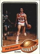#103 Phil Chenier 1979-80 Topps Basketball - $2.00