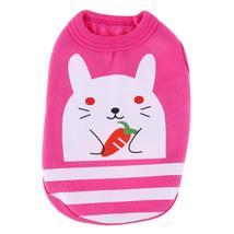 (pink size XXXS)Cute Cartoon Pet Dog Clothes Vest Cotton Pet T shirt Ves... - $14.00