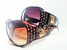 Womens Fashion Rhinestone Sunglasses Frog Bling - £7.88 GBP