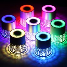 Simple Wireless Bluetooth Speaker,Q5 Multifunctional Color LED  - $91.95 CAD