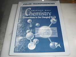 color  transparencies   prentice  hall   chemistry  connections  to  our... - $9.99