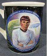 Mr. Spock Science Officer Star Trek Collector Mug Susie Morton Leonard N... - $17.99