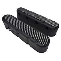 A-Team Performance GM LS Finned Cast Aluminum Valve Covers with Coil Mounts and  image 2