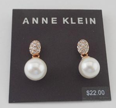 Anne Klein Earrings (E67) - $18.00