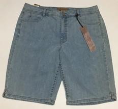 Women's Bermuda Jeans Shorts Sz 14 Hannah Denim image 2