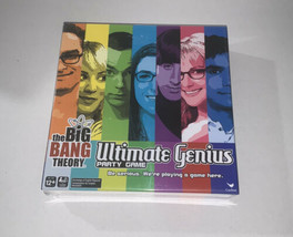 The Big Bang Theory Ultimate Genius Party Game Brand New Sealed - $26.99