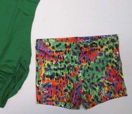 fab120fb0 New Girls Leotard Shorts Set Size 4-6 XS SC and 41 similar items