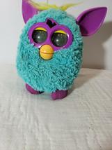 Furby BOOM Hasbro 2012 Teal Blue and Purple Interactive Talking Singing ... - $18.50