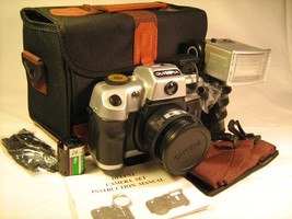 *New* Vintage Camera OLYMPIA EL1124 with Strap, Manual, Case [X2] - $33.60