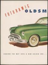 Vintage magazine ad OLDSMOBILE Futuramic from 1948 GM green automobile 2... - $13.49