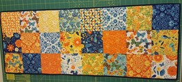 "Quilt Table Runner -- Moda On The Wing Fabric 13 3/4"" x 36""  - $33.66"