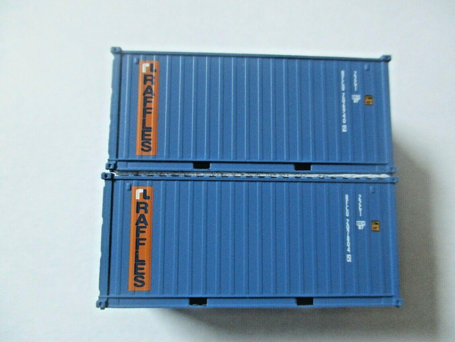 Jacksonville Terminal Company # 205384 RAFFLES (RFCU) 20' Standard Container