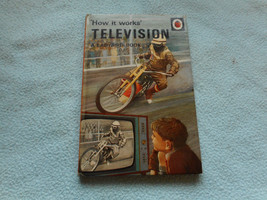 1968  Ladybird Book How It Works Television - $7.94