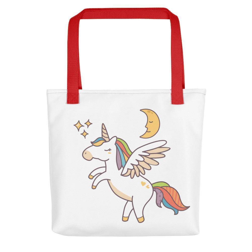 Flying Unicorn Tote Bag