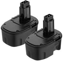2Pack 3.0Ah 14.4V Dw9094 Ni-Mh Replace For Dewalt 14.4V Battery Xrp Dc - $56.99
