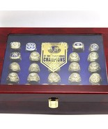 27 PCS New York The Yankees Ring set With red Wooden display Box - $190.00