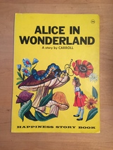 1969 Alice in Wonderland Illustrated Happiness Story Book image 7
