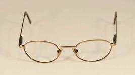 Fossil One-fifty Brush Gold Eyeglass Frames Designer Style Rx Eyewear - $9.12
