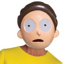 Morty Mask Adult Rick and Morty Animated Halloween Party Funny Unique LF... - $34.99