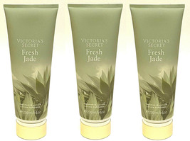 3 Victoria's Secret Body Fragrance Lotion Moisture Fresh Jade 8 Oz New - $28.49