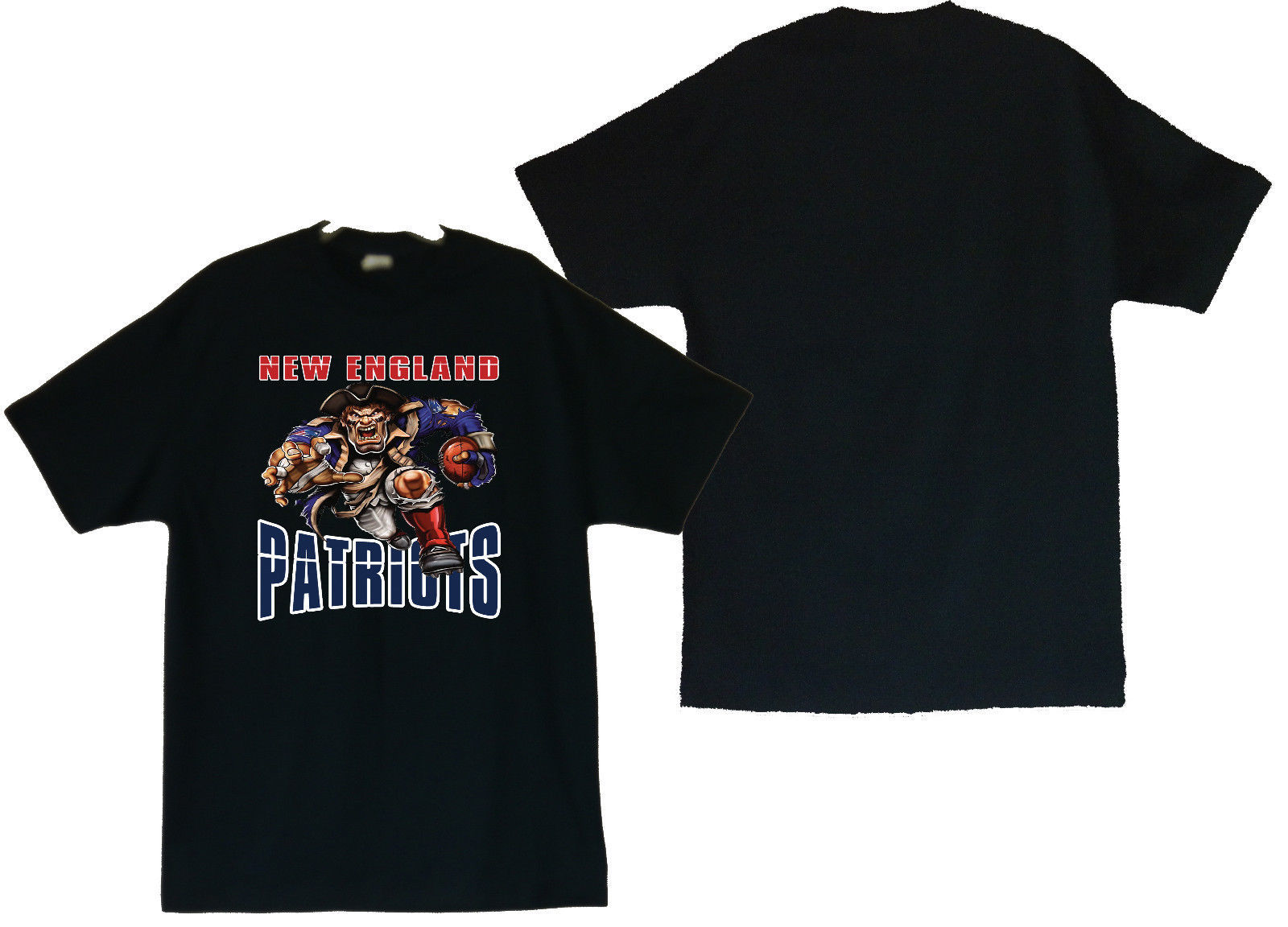 Primary image for New England Patriots Men's T-Shirt (S / M / L / XL / 2XL / 3XL / 4XL)