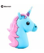 Portable Emoji Power Bank Battery case Charger Unicorn Cartoon USB For I... - €15,14 EUR+