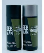 Sebastian Seb Man (1) MULTI TASKER & (1) SMOOTHER 1.7 oz Shampoo & Condi... - $10.99