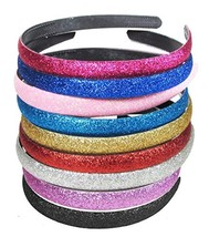 Girls Glitter Headband Headwear Hairband - $169,29 MXN