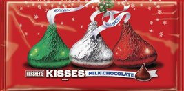 Hershey's Kisses Holiday Milk Chocolate 11 Ounces (Pack of 3) - $24.00