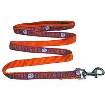 Pets First Collegiate Pet Accessories, Dog Leash, Clemson Tigers, Large - $10.88