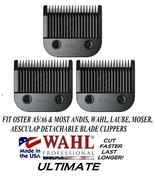3-WAHL ULTIMATE COMPETITION 9 BLADE Pet Grooming Fit Most Oster,Andis Cl... - $84.72
