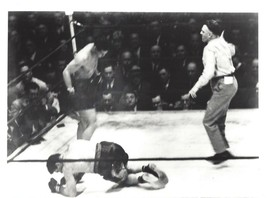 Joe Louis Vs Abe Simon 8X10 Photo Boxing Picture - $3.95