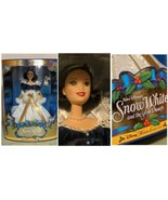 Christmas Snow White Barbie Disney Princess Holiday Collection Special E... - $29.39