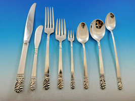 Mansion House by Heirloom Oneida Sterling Silver Flatware Set 8 Service ... - $3,400.00