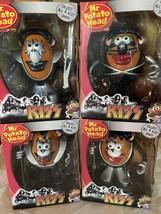 NIB KISS Mr. Potato Head Figures (LOT OF 4) Hasbro 2009 Gene,Paul,Ace,Peter - $140.25