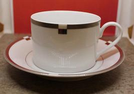 Mikasa Fine China Invitation Platinum Coffee Te... - $29.58