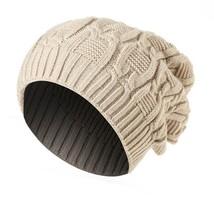 Men Women Baggy Warm Winter Wool Knit Ski Beanie Caps Hat Bones masculino - $12.98 CAD