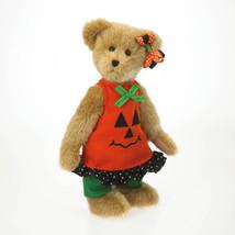 """Boyds Bear """"Jackie Punkinbeary"""" 12"""" Plush Bear- -#4028329 - NWT- 2012 - $39.99"""