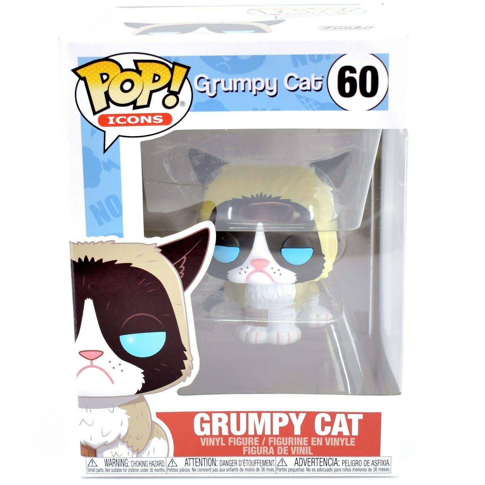 Funko Pop! Icons Grumpy Cat Tardar Sauce #60 Vinyl Figure