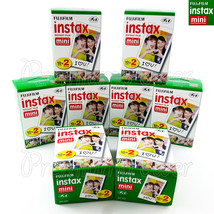160 PCS Fujifilm INSTAX MINI Instant film for camera 7s/25/50/90/70 BOX - $154.99